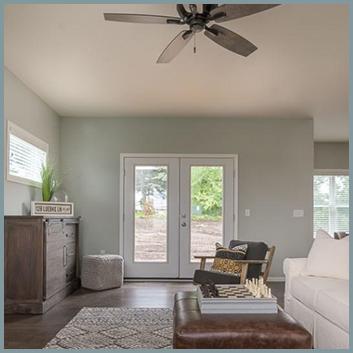 Living Room to Backyard