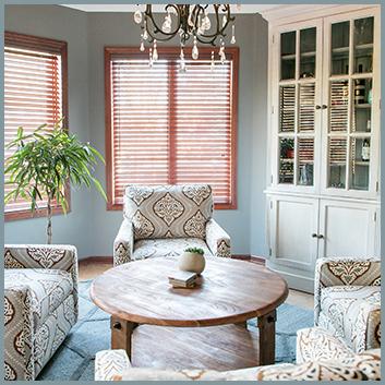Sitting Room with Door Cabinet