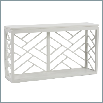 Tracery Console Table